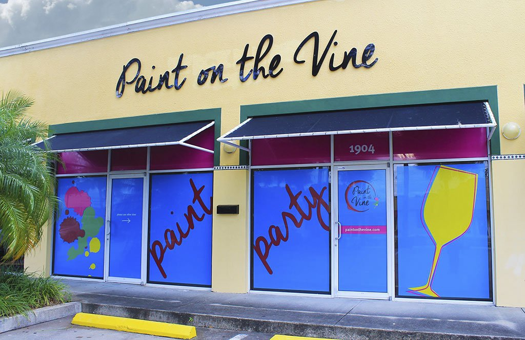 Paint on the Vine