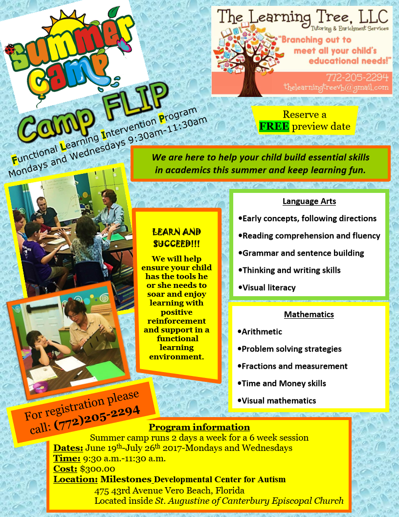 Math And Reading Summer Camp