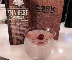 kombucha sake cocktail
