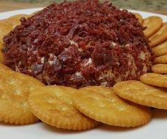 Beef Jerky Cheese Ball
