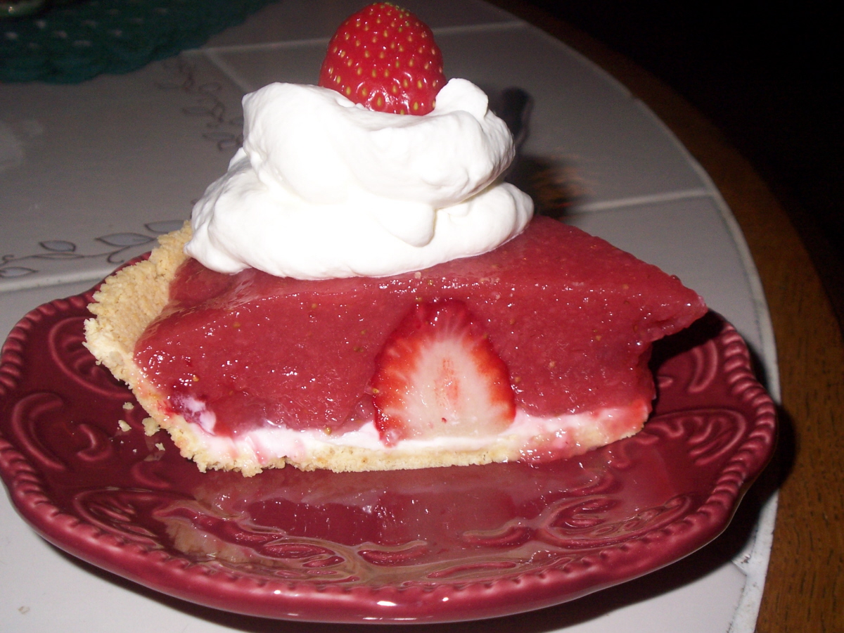 No Bake Strawberry Pie