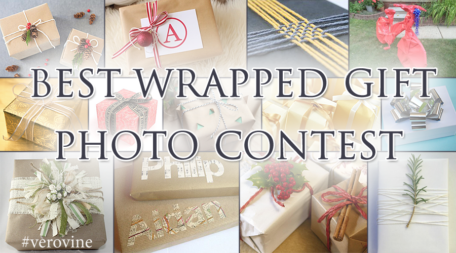 Best Wrapped Gift Photo Contest