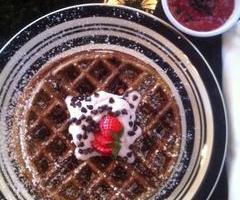 Strawberry Ricotta Waffle