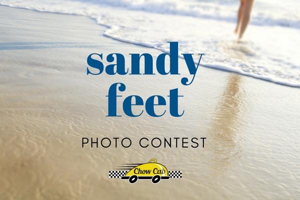 Sandy Feet Photo Contest